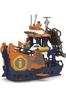 Imaginext Mattel Navio Comando Do Mar