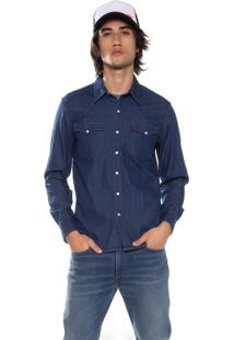 Camisa Jeans Levis Classic Western - S