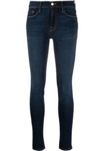 Frame Calça Jeans Le Skinny De Jeanne - Azul