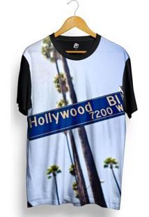 Camiseta Bsc Hollywood Full Print - Masculino