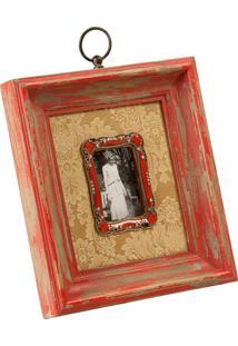 Porta-Retrato De Madeira Decorativo Rappeler