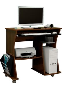Mesa Para Computador 160 Imbuia/Preto - Artely