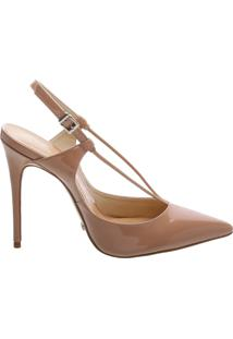 Scarpin Thin Strap Toasted Nut | Schutz