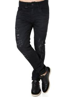 Calça Jeans Masculina Zune Preto