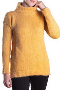 Blusa Feminina Biamar Gola Alta Amarelo - U