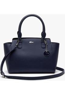 Bolsa Lacoste Access Premium Feminina - Feminino-Azul Petróleo