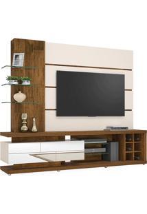 Estante Para Tv Até 65 Polegadas, Demolição Com Off White, Vina Ii