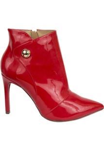Ankle Lança Perfume Boot Bico Fino - Feminino