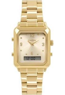 Relógio Condor Top Fashion Feminino - Feminino-Dourado