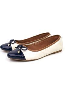 Sapatilha Trivalle Shoes Dia A Dia Branca E Azul