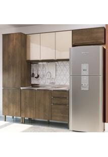 Cozinha Modulada Áustria A2895 - Casamia Elare