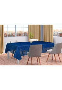 Toalha De Mesa De Renda Color Azul 150M X 220M Interlar