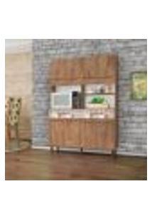 Cozinha Compacta Parati 8 Pt 2 Gv Amêndoa