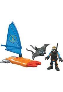 Imaginext Mattel Oceano Básico Veleiro Dfy05