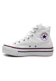 Tênis All Star Converse Ct0494 Plataforma Branco Branco