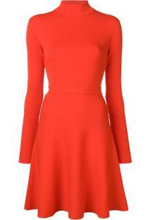 Givenchy Vestido Gola Alta - Vermelho e9851c7e4083
