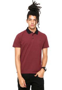 Camisa Pólo Hurley Vermelha masculina  7a8f040a1731b