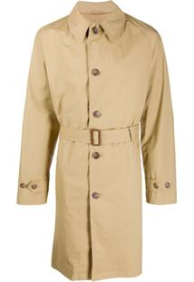 Polo Ralph Lauren Trench Coat Com Cinto - Neutro