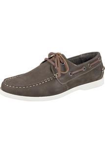 Docksider Casual Moderno Magi Shoes Confortável Militar