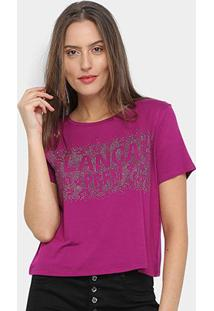 Camiseta Lança Perfume Hot Fix Feminina - Feminino