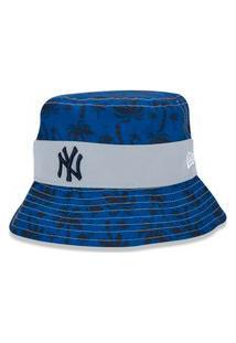 Chapéu Bucket New Era New York Yankees Azul
