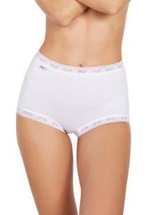 Calcinha Star Max 2464-9 - Feminino-Branco