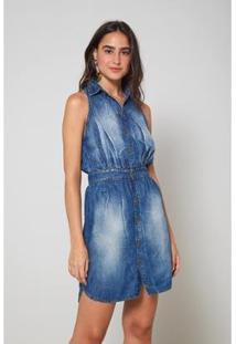 Vestido Jeans Oh, Boy! Chemise - Feminino