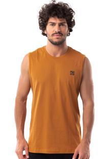 Regata Algodao Amarela masculina   Moda Sem Censura 8ebeeac09d