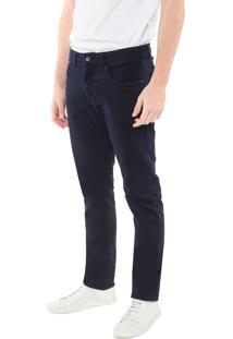 Calça Sarja Calvin Klein Skinny Color Azul-Marinho