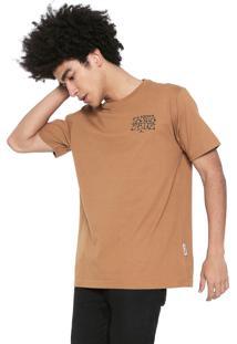 Camiseta Santa Cruz Savage Caramelo