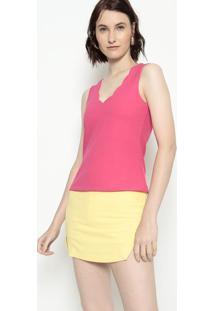 Blusa Lisa - Pink - Estilo Hestilo H