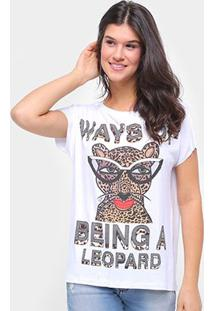 Camiseta Triton Estampada Feminina - Feminino