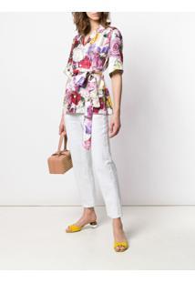 Dolce & Gabbana Blusa Com Cinto - Rosa