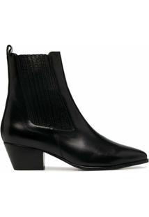 Sandro Paris Ankle Boot Melya - Preto