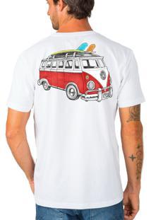Camiseta Urza Kombi Color Branca