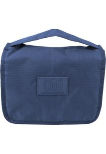 Nécessaire De Viagem- Azul Escuro- 18X22X8Cm- Luluggtogo