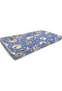 Colchao Baby Physical D18 Infantil 60 Cm (Larg) Azul - 42944 Sun House