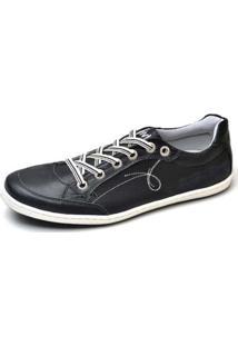Sapatenis Top Franca Shoes Masculino - Masculino-Preto