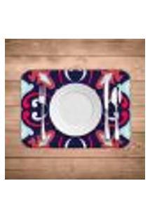 Jogo Americano Wevans Mandala Colorful Kit Com 4 Pçs