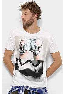 Camiseta Derek Ho The Trooper Masculina - Masculino-Off White