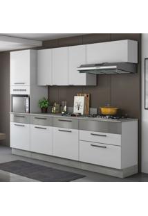 Cozinha Compacta Exclusive Iii 8 Pt 5 Gv Branca