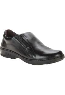 Sapato Pegada Social - Masculino-Preto
