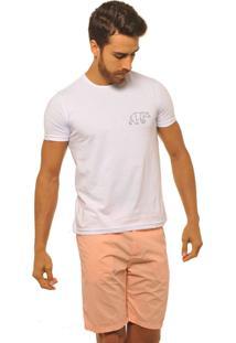 Camiseta Masculina Joss Logo Urso Preto Branco