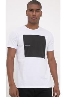 Camiseta Slim Com Estampa