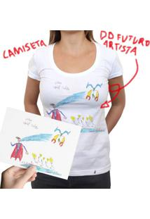 Camiseta Do Futuro Artista - Camiseta Clássica Feminina