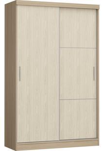 Modulo Com 2 Portas E 2 Gavetas Infinity 3825A-Castro Móveis - Nogueira / Nudi