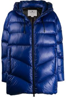 Woolrich Hooded Padded Jacket - Azul