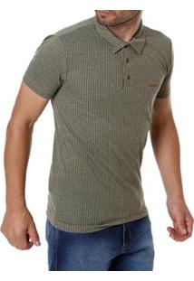 Camisa Polo Adulto Haskler Masculino - Masculino-Verde
