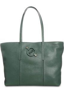 Bolsa Saad Shopper Floater Verde