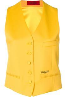 Styland Colete De Alfaiataria - Amarelo